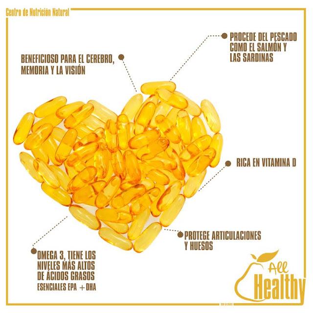 beneficios del omega 3 en los suplementos para bajar de peso