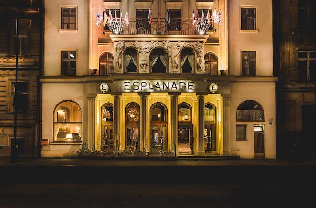 Hotel Esplanade perto da Praça Venceslau em Praga