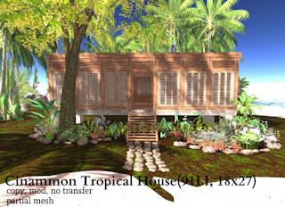 Cinnamon Tropical House