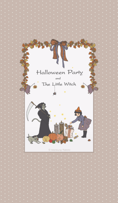 Halloween Party and The Little Witch