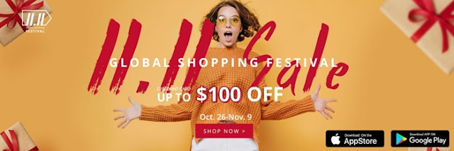 Zaful Double 11 sale! Breakdown price with only $1.1!