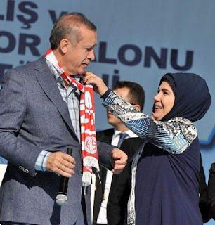 Kaalinta xaaska madaxweynaha turkiga Erdoghan