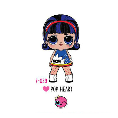 Игрушка Pop Heart LOL Surprise Under Wraps