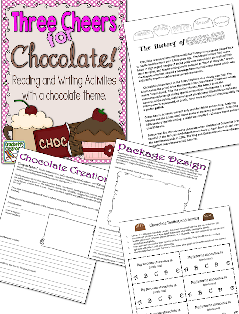 Grow a chocolate garden?  How is that possible?  Show students how to make their own chocolate treat for Valentine's Day.
