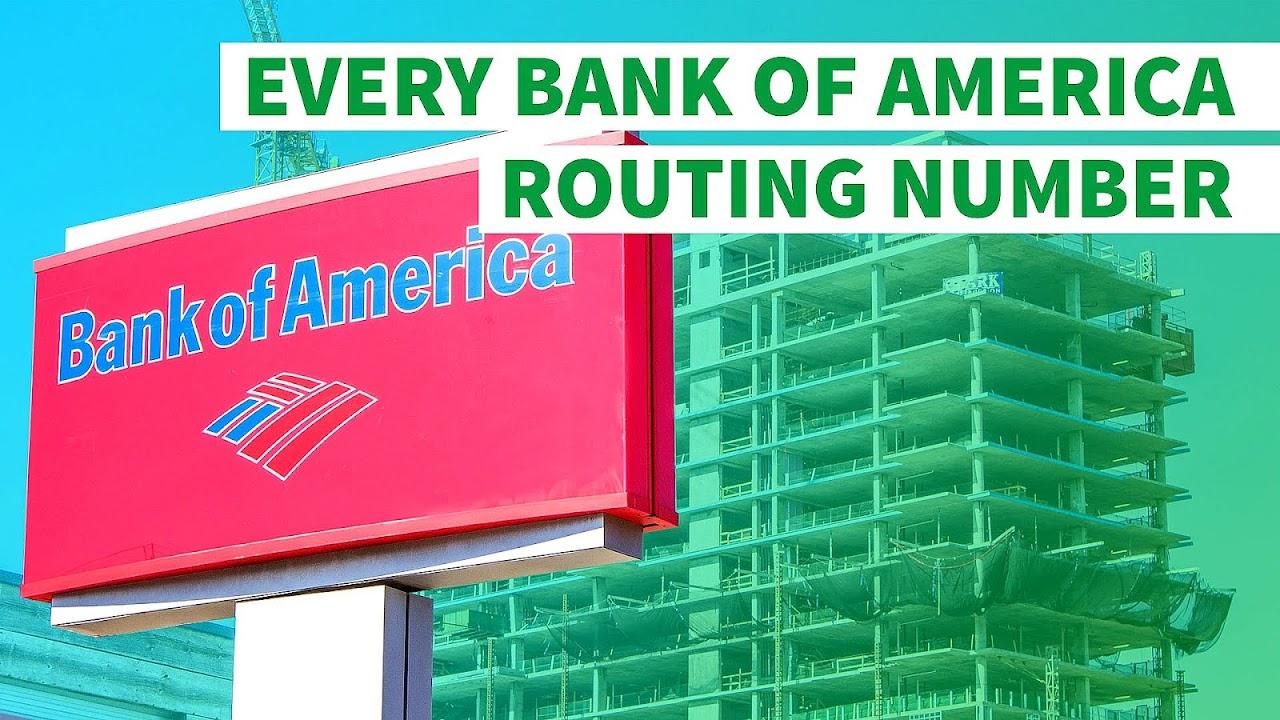 bank of america fedwire aba