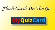Mobile Flash Cards