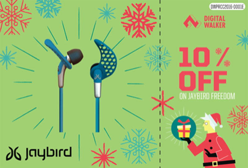 10% off on Jaybird Freedom