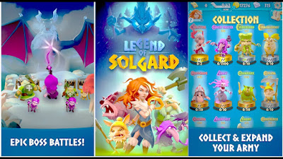 tech, tech news, CANDY CRUSH, Legend of Solgard, Legend of Solgard android, android 2018, games, games news, gaming, Videogame,