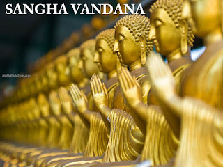 sangha vandana and its meaning