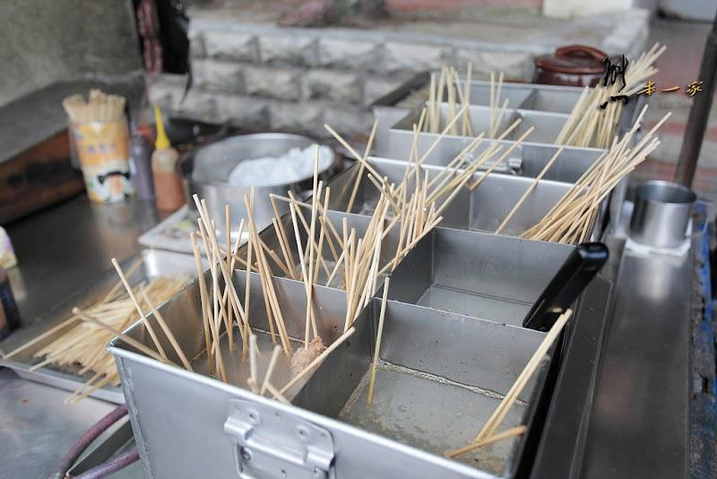 台東銅板美食小吃|南京路邊無名黑輪攤