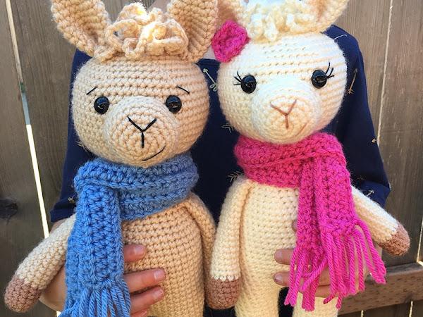 Crochet A Llama CAL Part 3