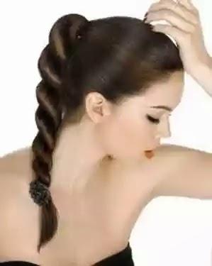 gaya kuncir rambut