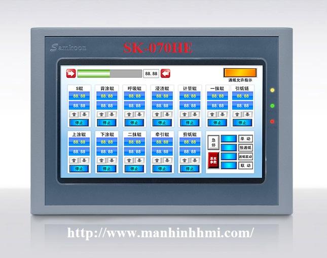 Đại lý phân phối màn hình cảm ứng HMI Samkoon 7 inch SK-070HE, SK-070BE