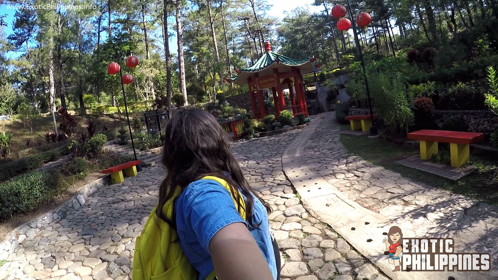 Around the World with Botanical Garden in Baguio City Exotic Philippines Travel Blog Blogger Vlog