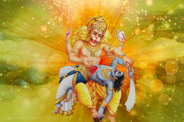 నృసింహావతారం_Narasimhavatharam నృసింహావతారం Narasimhavatharam bhakthipustakalu bhaktipustakalu