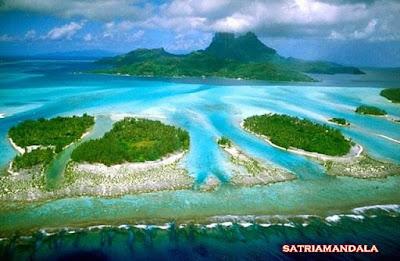 Kepulauan Derawan Di Desain uang kertas Rp 20.000 ( Dua puluh Ribu )