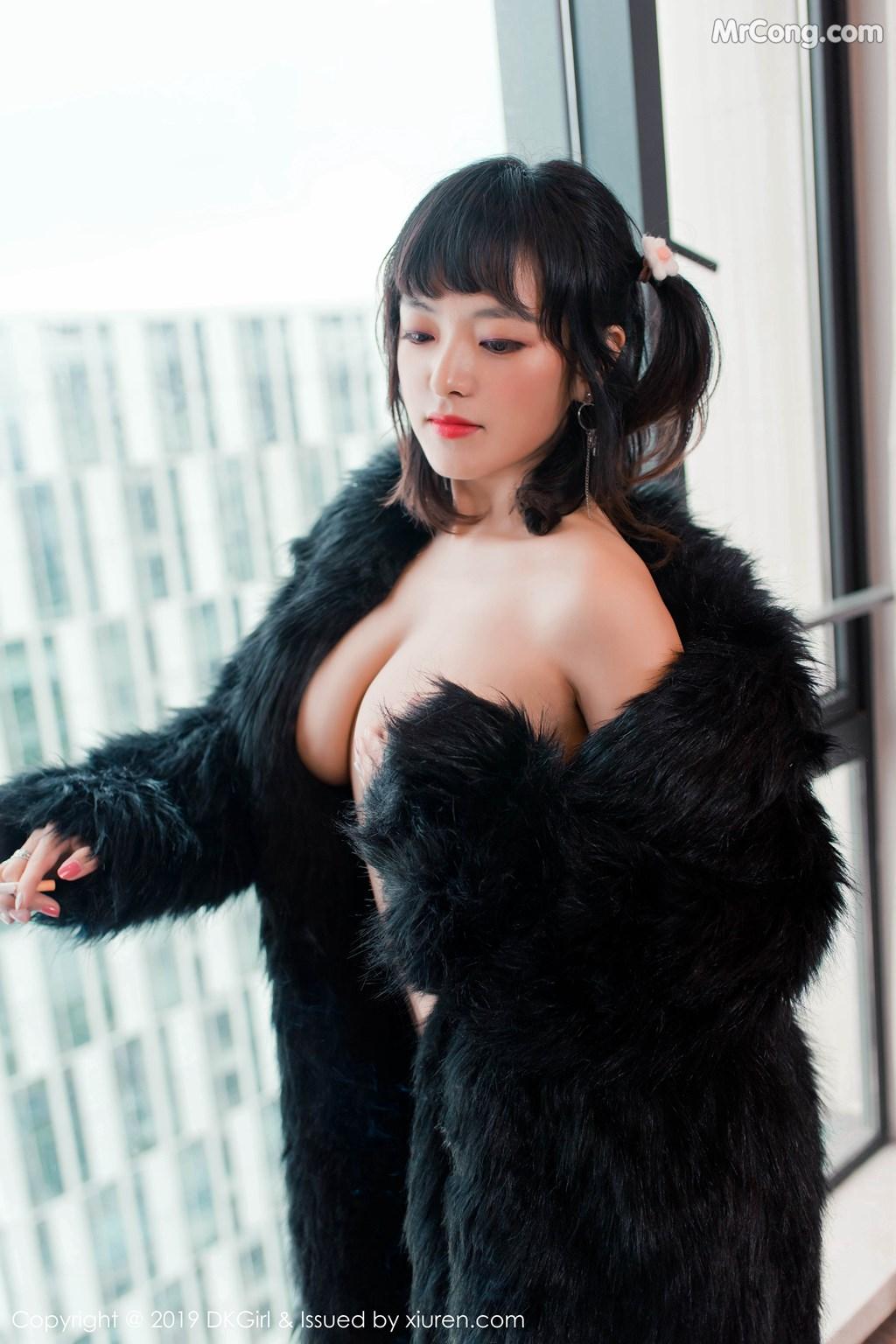 Image DKGirl-Vol.118-Zhang-Hua-Hua-MrCong.com-004 in post DKGirl Vol.118: Zhang Hua Hua (张花花) (51 ảnh)