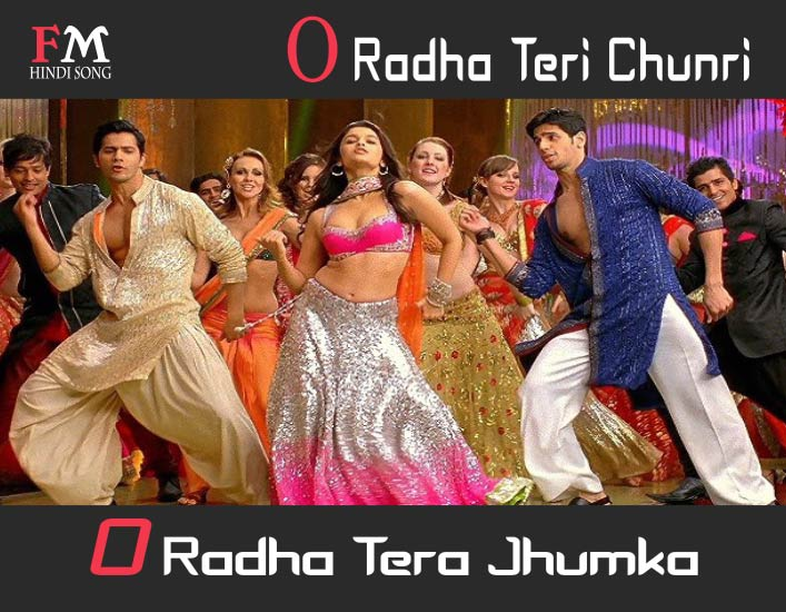 O-Radha-Teri-Chunri-Lyrics-In-Hindi-Student-of-the-Year-(2012)
