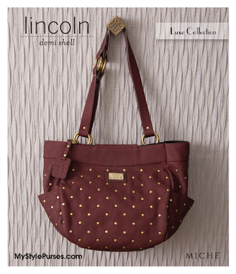 Lincoln Demi Shell of the Miche Luxe Collection