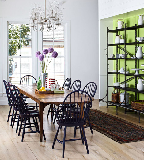 Modern Traditional Dining Room: Journey Home Interior Design For Canberra: Windsor Chairs