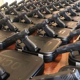 Governo entregará 400 pistolas Glock à Polícia Militar e Polícia Civil