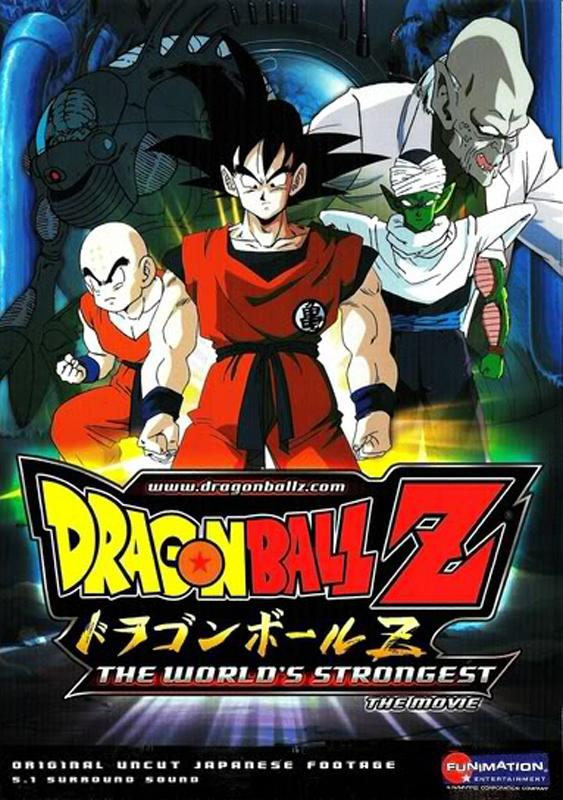 Poster Of Dragon Ball Z The World's Strongest 1990 English 300MB BRRip 480p Free Download Watch Online