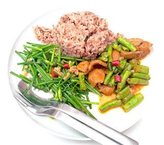 makanan sehat dengna beras merah