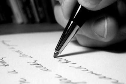 Menulislah Wahai Para Pemuda