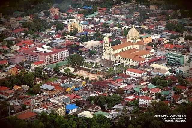 Lipa CIty Aerial View