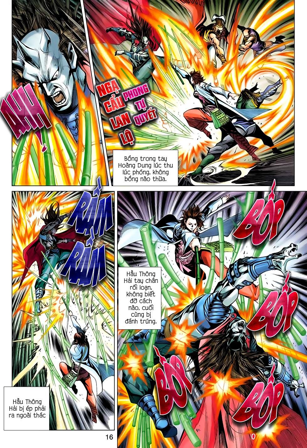 Anh Hùng Xạ Điêu anh hùng xạ đêu chap 56: tuyệt tình vô nghĩa lãnh huyết ác niệm trang 16