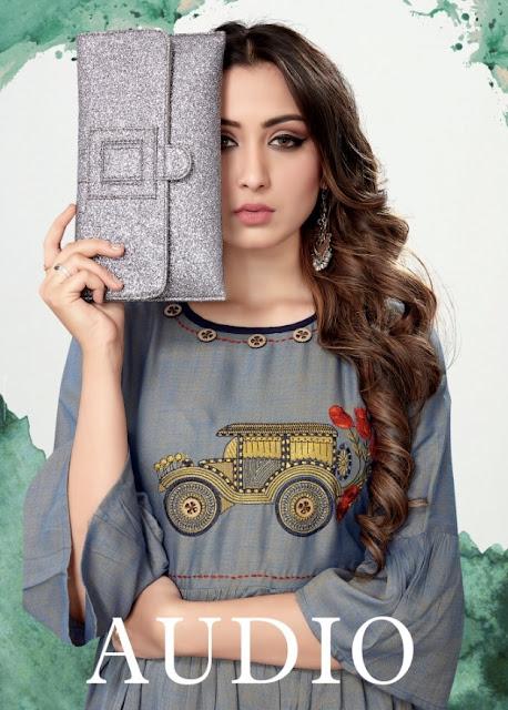 Sweety fashion Audio rayon kurti