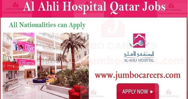 Al Ahli Hospital Doha Latest Jobs And Careers 2019 With