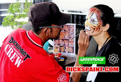 make up character tiger jakarta
