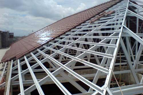 Pemasangan Atap Baja Ringan Balikpapan Cv Rifqi Putra Brantas