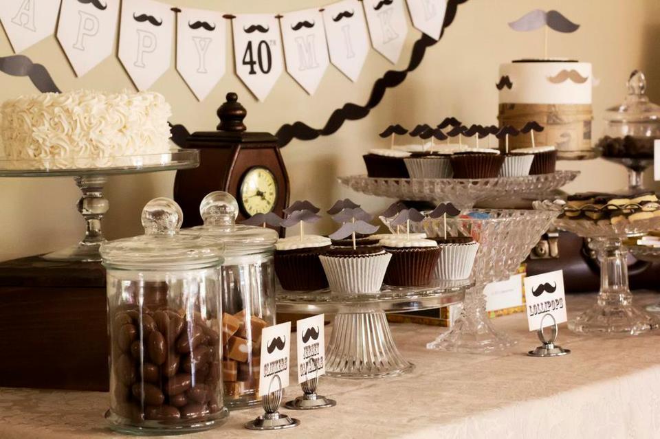 Little Big Company The Blog Moustache Party Dessert