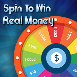 Spin & Win Real Money App Offer earn unlimited cash