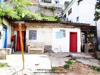 Residência de Maria Benedita, na Chica Luisa