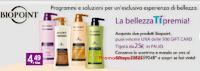 Logo La Bellezza ti premia con Biopoint: vinci 500 card Tigotà da 25€