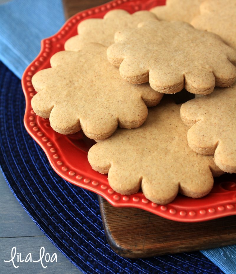 The favorite soft honey graham cracker recipe for making and baking decorated sugar cookies