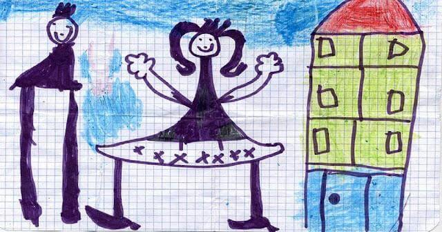 Como interpretar o desenho da família feito pelas crianças?