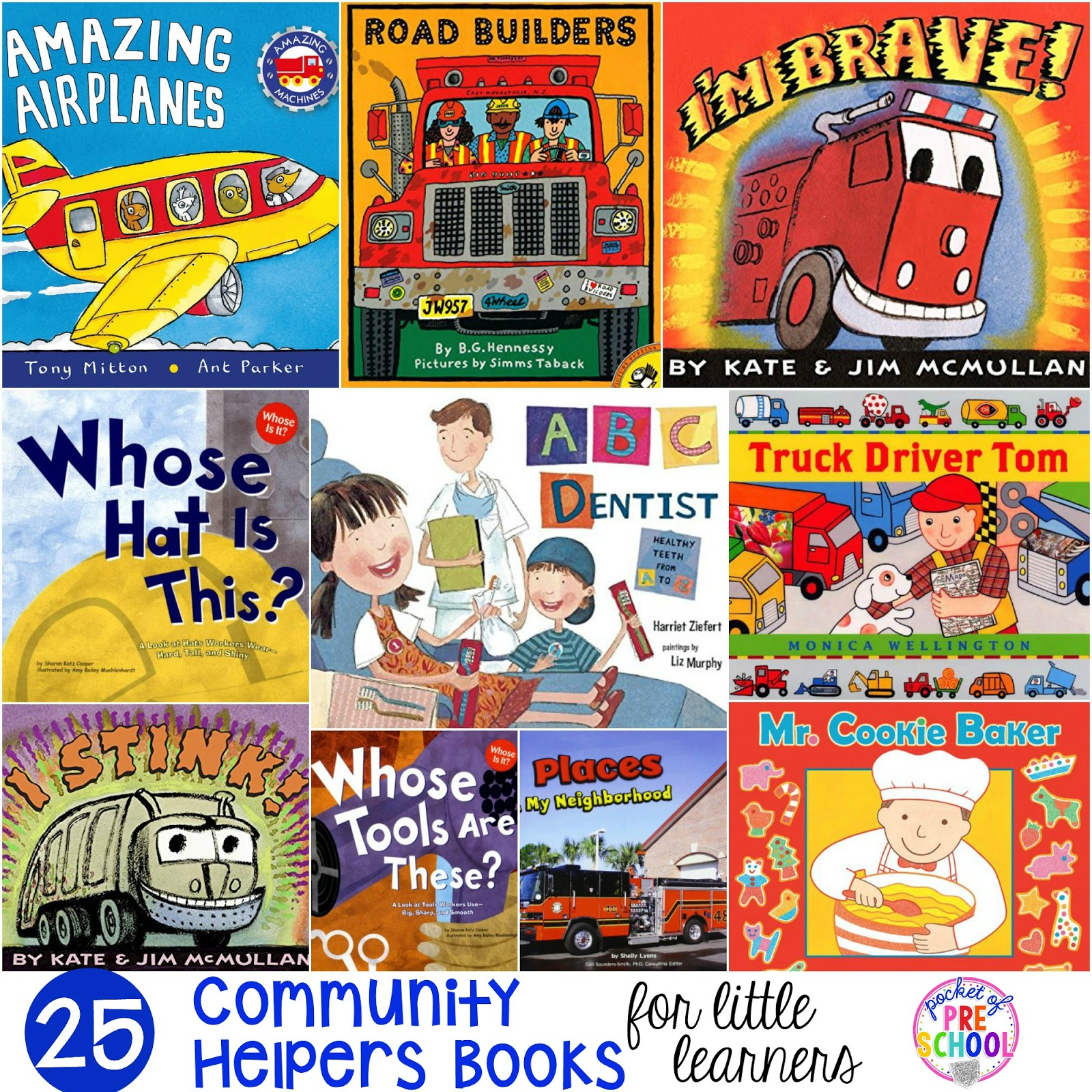 Community Helpers Books For Little Learners
