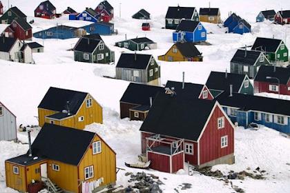 Inilah 'Ittoqqortoormiit' Desa Cantik di Ujung Dunia
