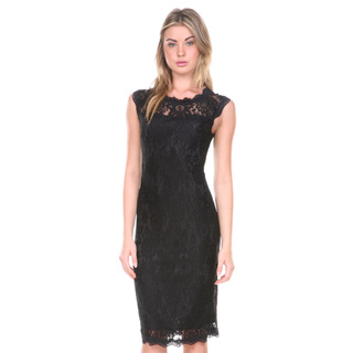 Stanzino Belted Lace Dress for Women