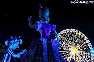 carri Carnevale Nizza lights parade