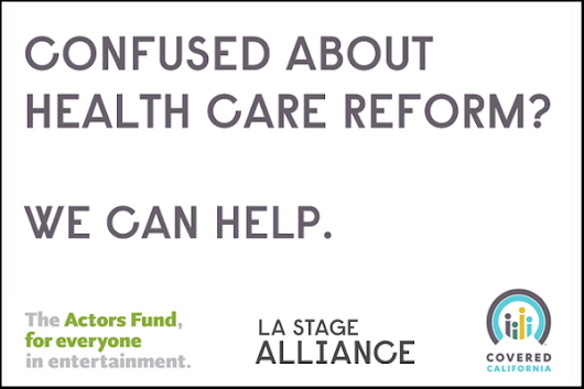 Monday October 27, 2014 @ 7pm - FREE Workshop Every Artist Insured: Finding Affordable Health Insurance