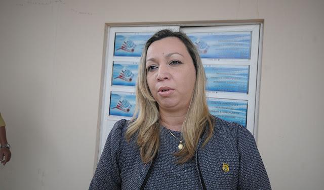 Delegada Andrea Magalhães