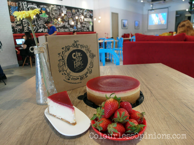 cat fiddle strawberry cheesecake malaysia