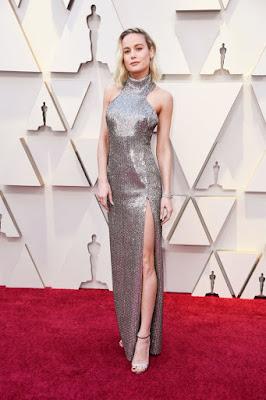 #Moda - Óscares 2019 Brie Larson