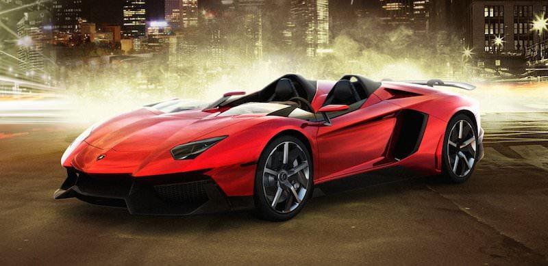 世界最速の車 「ランボルギーニ·アヴェンタドールJ」