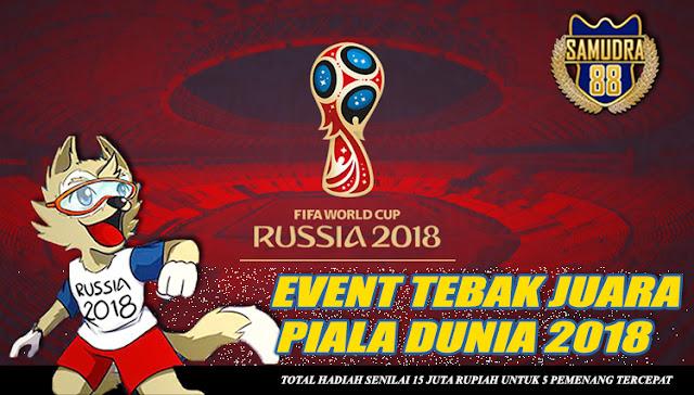 EVENT TEBAK JUARA PIALA DUNIA 2018